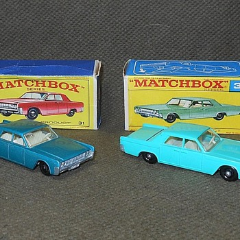 Matchbox Lincoln Continental #31 - Model Cars
