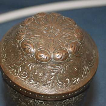 Antique lidded urn,