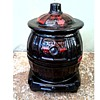 """Royal Canadian Art Pottery.....eh or Is it Really a McCoy /""""Pot Belly Stove"""" Cookie Jar/Circa 1960's-70's"""