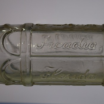 Another Puzzling Coca Cola Bottle, Arcadia Florida? - Coca-Cola