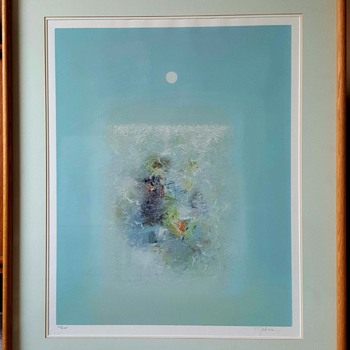 "Limited Edition Serigraph Print ""Tranquility"" by Seikichi Takara - Fine Art"