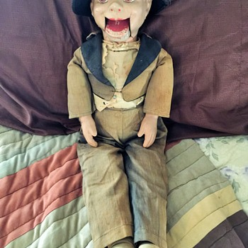 Appears to be OLD Willie Talk Dummy Doll - Dolls