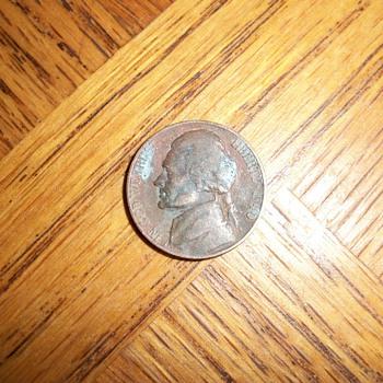 five cents D  1940