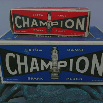 Champion Spark Plug - Petroliana