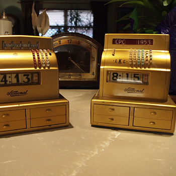 1938 and 1953 NCR, CPC Sales Quota Award Clocks - Clocks