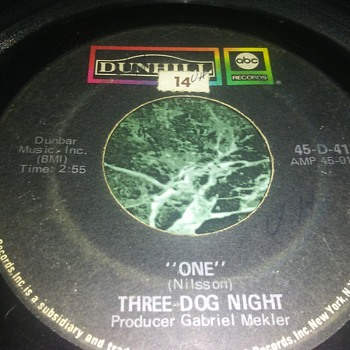 Three Dog Night...On 45 RPM Vinyl - Records