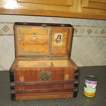 Excelsior Toy Oak Slat Trunk  - Furniture