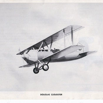 Douglas Early Aircraft - Advertising
