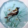 Hand Painted Folk Art Plates