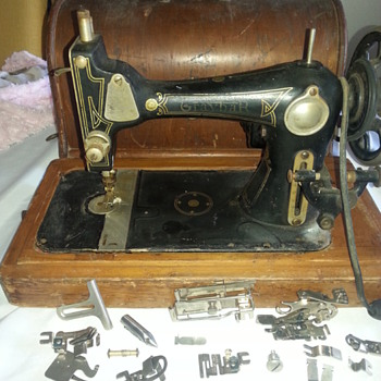 Graybar sewing machine