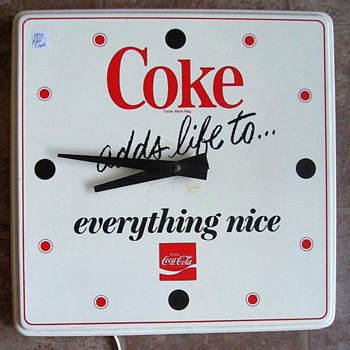 Some Other *COKE* Items.... - Advertising