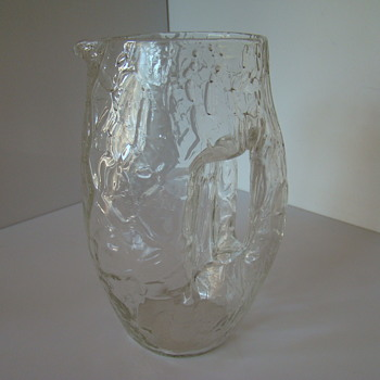 Another jug - a contribution to sklo's post - Art Glass