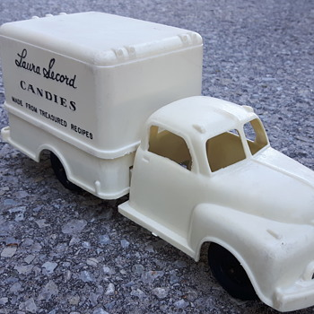 Laura Secord Delivery Truck. Reliable Toys. Canada - Model Cars