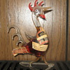 Vintage Rooster w/Apricot Liquer
