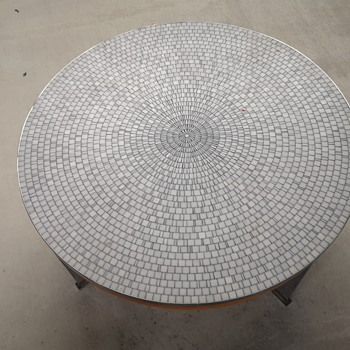 My second Heinz Lilienthal mosaic table  - Furniture