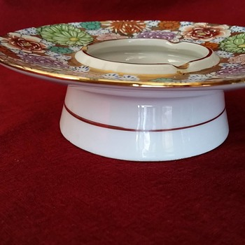 Help with Imari Porcelain ashtray age and maker.