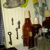 My skeleton keys and old lamp key windchime