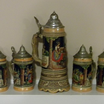 German Stein Set
