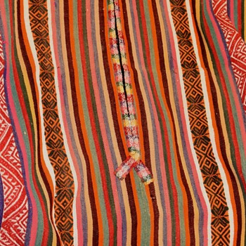 Large Poncho from the 1960s - Rugs and Textiles