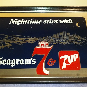 NIGHTTIME STIRS, with 7&7  - Advertising