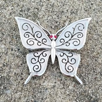 Trifari Butterfly Brooch - Animals