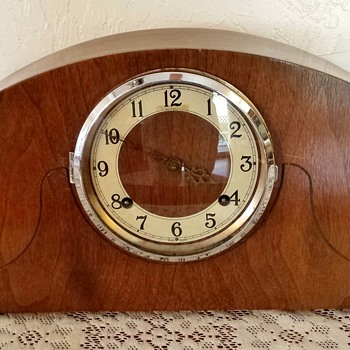 Vintage *WWII era Forestville Mantel Clock - Clocks