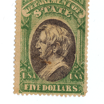 $5 Seward US Stamp