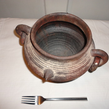 Antique Brown Pottery