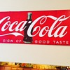 1948 Bulletin Board Sign- dated and tells size and where it was sent: Boulevard Cafe, Highway 66, Puente, CA