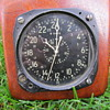 WWII US Navy aircraft clock