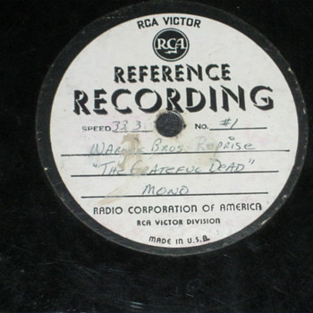 GRATEFUL DEAD DEMO REFERENCE RECORD - Records