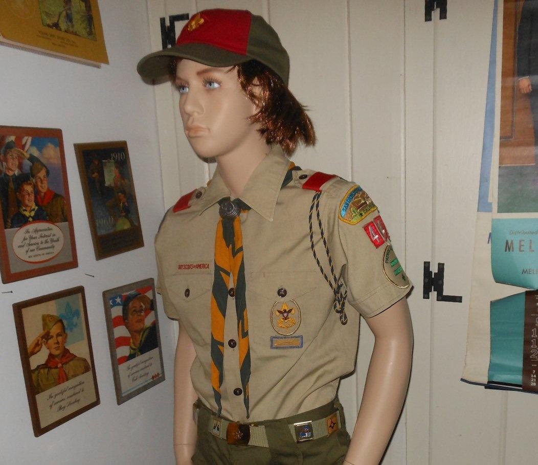 Oscar de la Renta Boy Scout Uniform Complete For Now 1980s