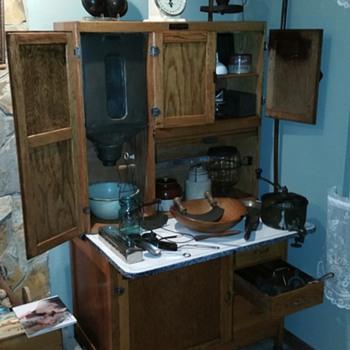 mcdougal hoosier style cabinet