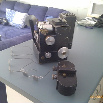 3D movie camera and projector