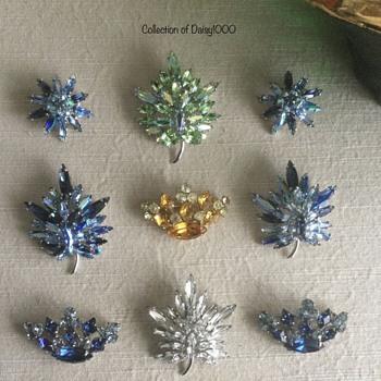 Sherman Jewelry ... Small Crystal Treasures - Costume Jewelry