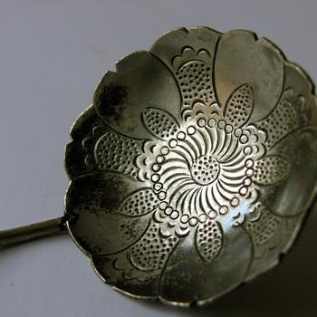 russian silver spoon - Silver
