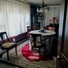 "Dining In Style ! /Vintage Drexel ""Heritage"" Set/ Half Round Oak Curio / Piano Desk"