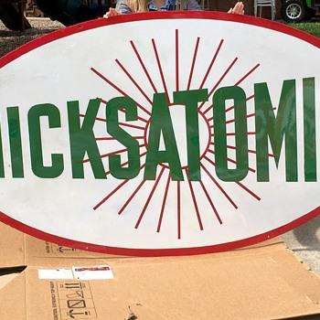 HicksAtomic Gasoline - Advertising