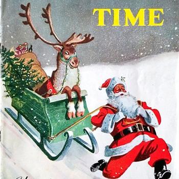 Guinness Time Magazine. 1951 Christmas Issue - Advertising