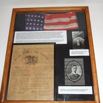 My Great Great Grandpa's civil war discharge paper - Paper