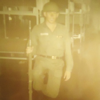 Back, wounded from Vietnam and off to war again!  In Chicago 1968!! Then later to Detroit!  It was on fire!!! - Military and Wartime