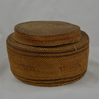 Very Old Native Basket - Native American