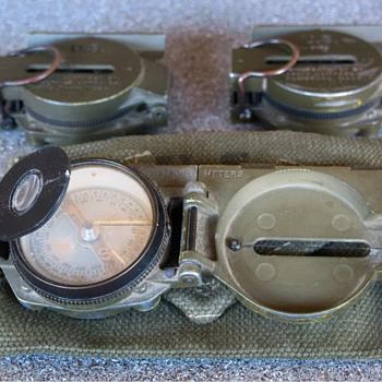 Korean War Era US Army M-1950 Lensatic Compass  - Military and Wartime