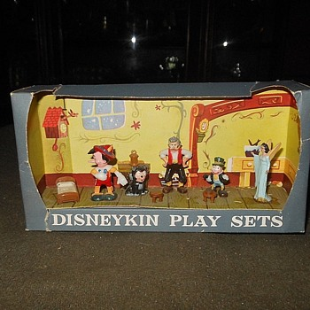 Disneykin Playsets Pinocchio by Marx 1960s - Advertising