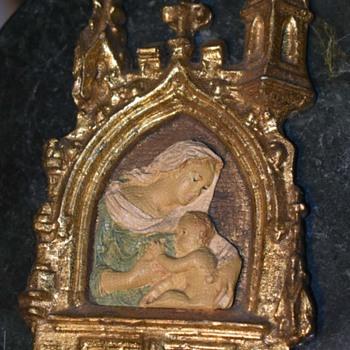 Gothic Style Catholic Iconography