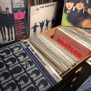 The all Beatles crate ,,they  created no Trix's - Records