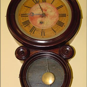Ingram Figure Eight Wall Clock 8-Day  - Clocks