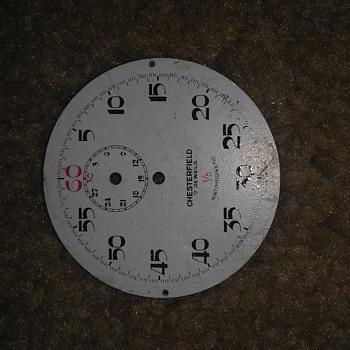 Inside of a watch