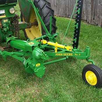 Mower restoration - Tractors