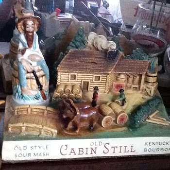 Cabin Still Decanter from 1950's